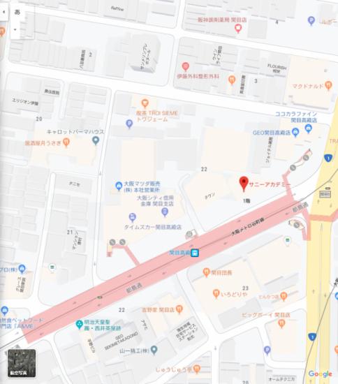 GoogleMap載りました!!