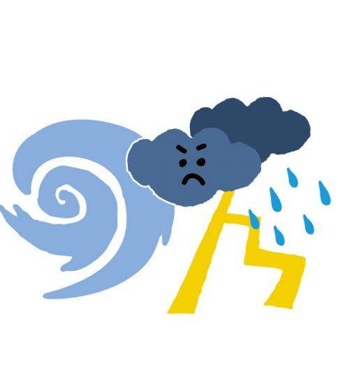 台風は右巻き?左巻き?